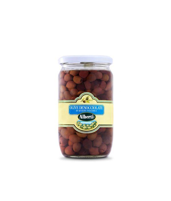 olive denocciolate cultivar taggiasca in evo 600 gr