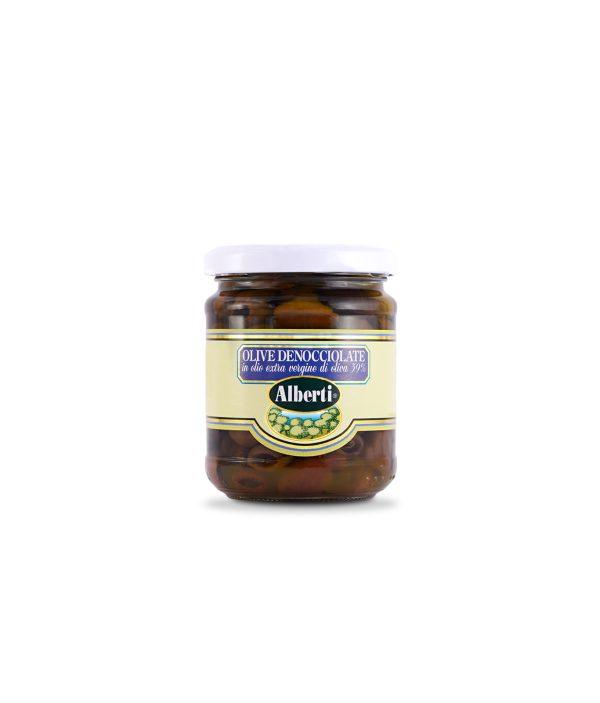 olive denocciolate riviera in evo 180 gr