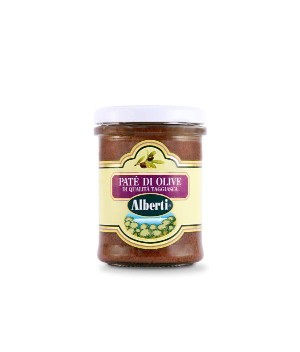 patè di olive di qualità taggiasca
