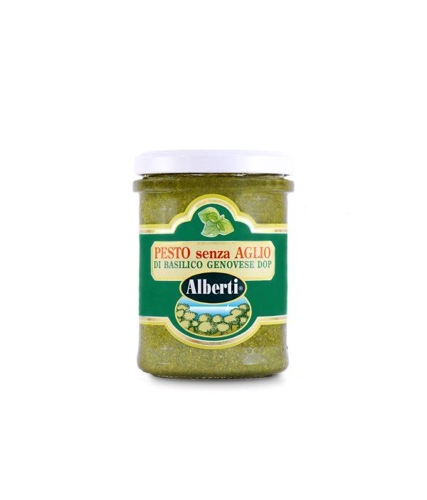 pesto basilico senza aglio dop