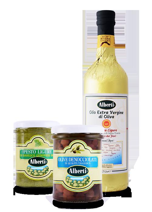 alberti olio liguria imperia pesto olive